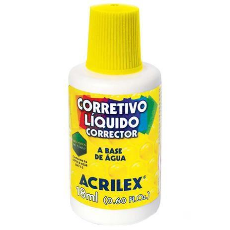 Corretivo Líquido 18ml Acrilex