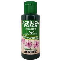 Tinta Acrílica Fosca Nature Colors 60ml Verde Esmeralda 571 Acrilex