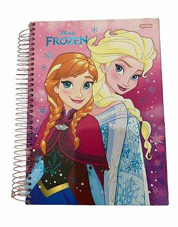 Caderno Universitário 200 folhas Capa Dura Frozen Fever - Jandaia