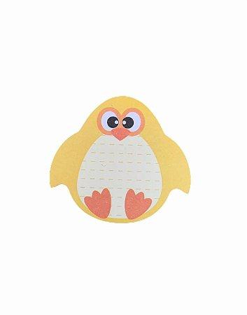 Bloco de Anotação Adesivo Zoo Animais Pinguim 45x45mm - 30 fls - BRW