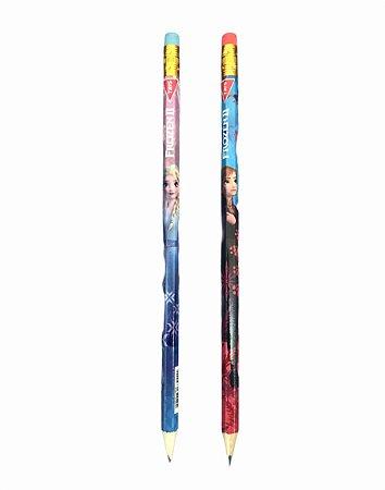 Lápis Preto HB Nº 2 com Borracha Frozen II Tris