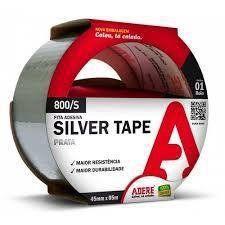 Fita Adesiva Silver Tape Adere