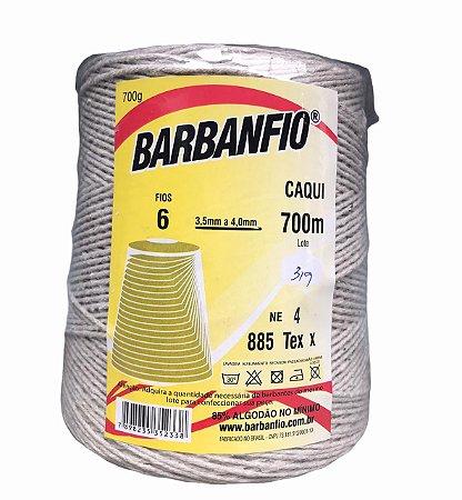 Barbante Barbanfio 700 gramas n°6 Caqui 700 metros