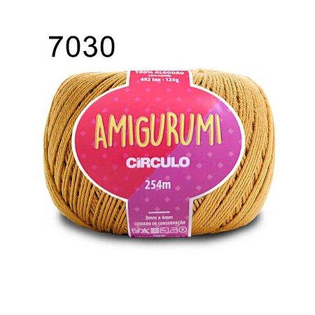 Linha Amigurumi 254m Cor 7030 Mostarda - Círculo