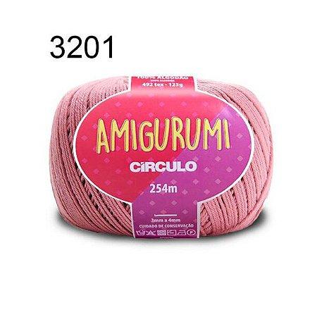 Linha Amigurumi 254m Cor 3201 Camafeu - Círculo