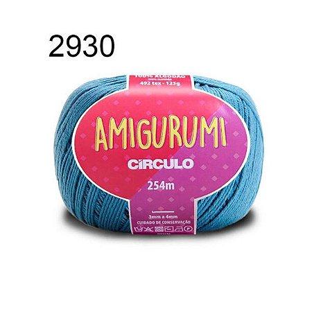 Linha Amigurumi 254m Cor 2930 Netuno - Círculo