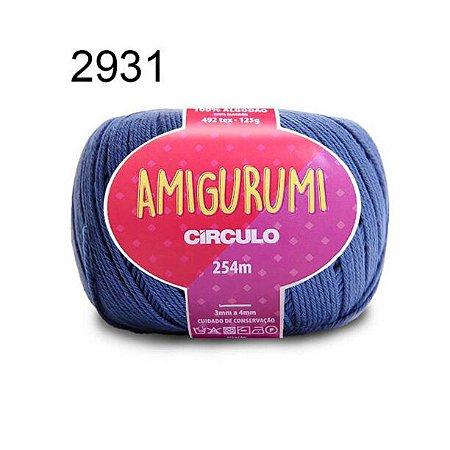Linha Amigurumi 254m Cor 2931 Náutico - Círculo