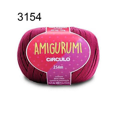 Linha Amigurumi 254m Cor 3154 Vinho - Círculo