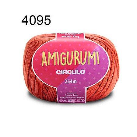 Linha Amigurumi 254m Cor 4095 Rum - Círculo