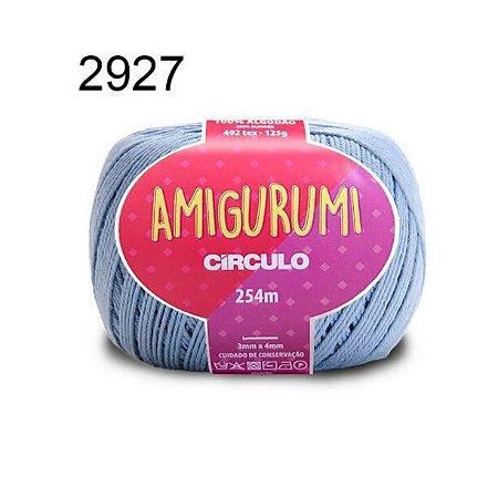 Linha Amigurumi 254m Cor 2927 Aquário - Círculo