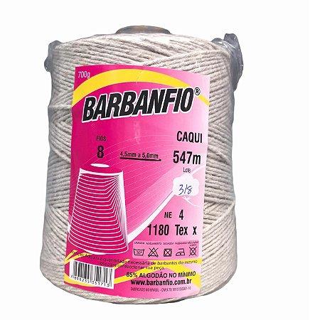 Barbante Barbanfio 8 fios Caqui 700 Gramas 547 Metros