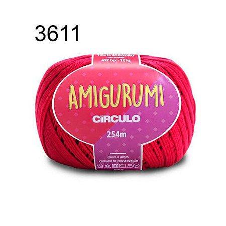 Linha Amigurumi 254m Cor 3611 Rubi - Círculo