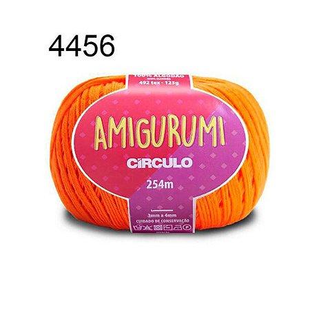 Linha Amigurumi 254m Cor 4456 Laranja - Círculo