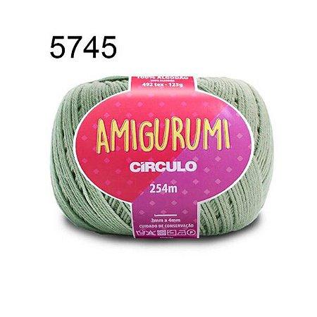 Linha Amigurumi 254m Cor 5745 Eucalipto - Círculo