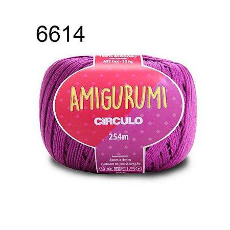 Linha Amigurumi 254m Cor 6614 Alfazema - Círculo