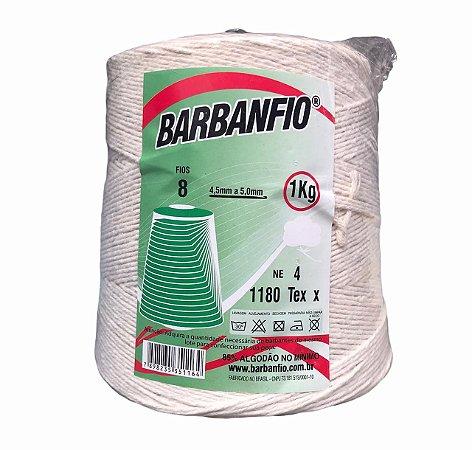 Barbante Barbanfio 8 fios Cru 1 Kilo