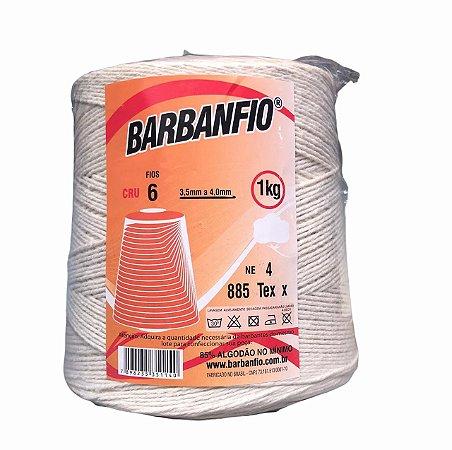 Barbante Barbanfio 6 fios Cru 1 Kilo
