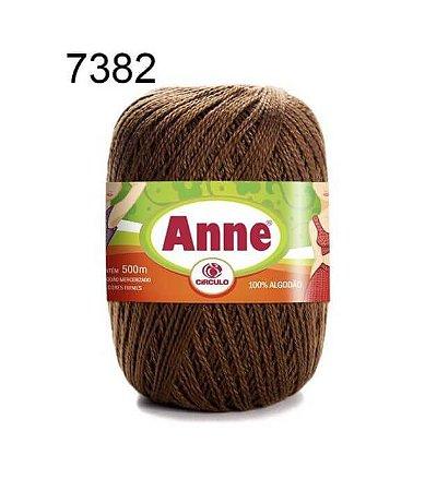 Linha Anne 500m Cor 7382 Chocolate - Círculo