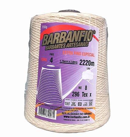 Barbante Barbanfio 4 fios Extra Fino Especial 700 Gramas 2220 Metros