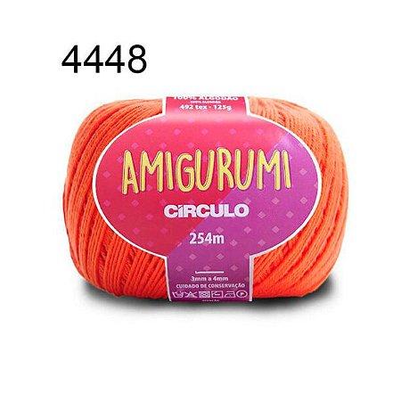 Linha Amigurumi 254m Cor 4448 Tijolo - Círculo
