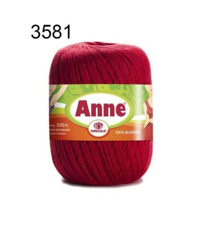 Linha Anne 500m Cor 3581 Pimenta - Círculo