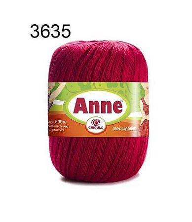 Linha Anne 500m Cor 3635 Paixão - Círculo