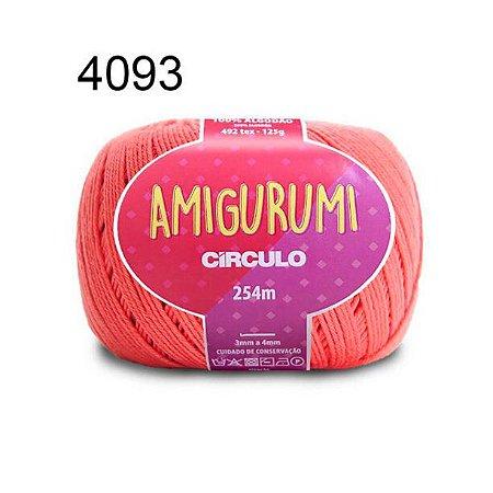 Linha Amigurumi 254m Cor 4093 Tafetá - Círculo