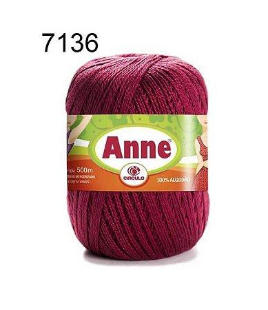 Linha Anne 500m Cor 7136 Marsala - Círculo