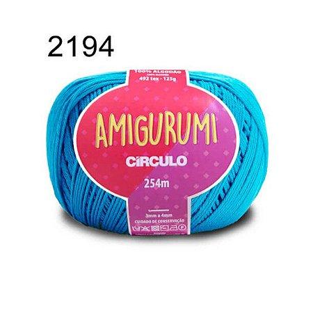 Linha Amigurumi 254m Cor 2194 Turquesa - Círculo
