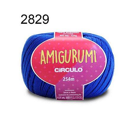 Linha Amigurumi 254m Cor 2829 Azul Bic - Círculo