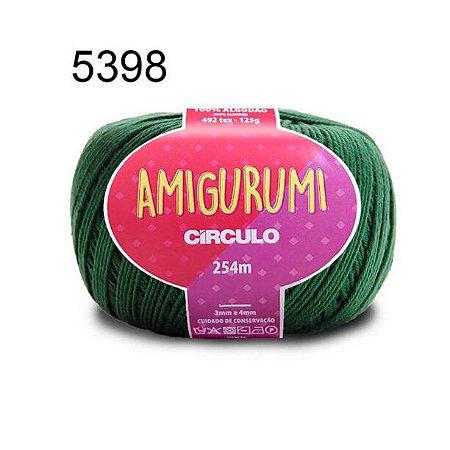 Linha Amigurumi 254m Cor 5398 Musgo - Círculo