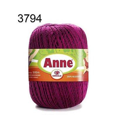 Linha Anne 500m Cor 3794 Bordô - Círculo