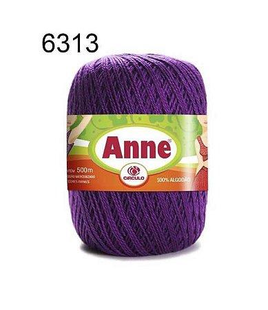 Linha Anne 500m Cor 6313 Amora - Círculo