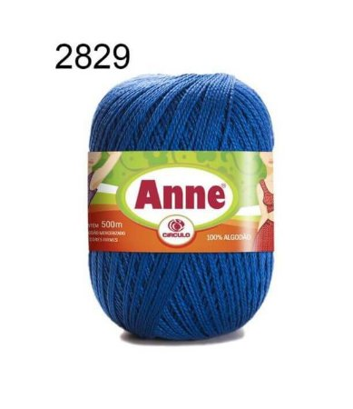 Linha Anne 500m Cor 2829 Azul Bic - Círculo