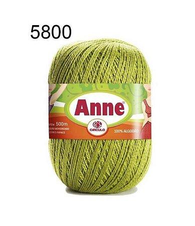 Linha Anne 500m Cor 5800 Pistache - Círculo