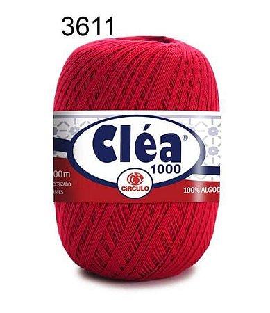 Linha Cléa 1000 151g Cor 3611 Rubi - Círculo