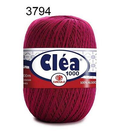 Linha Cléa 1000 151g Cor 3794 Bordô - Círculo