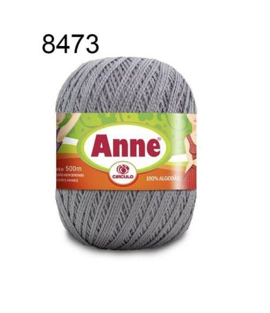 Linha Anne 500m Cor 8473 Alumínio - Círculo