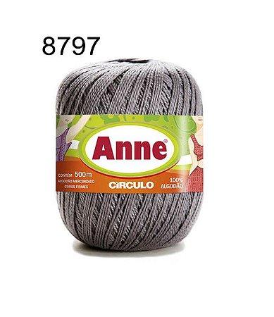Linha Anne 500m Cor 8797 Aço - Círculo