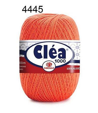 Linha Cléa 1000 151g Cor 4445 Tangerina - Círculo