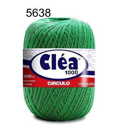 Linha Cléa 1000 151g Cor 5638 Trevo Verde - Círculo