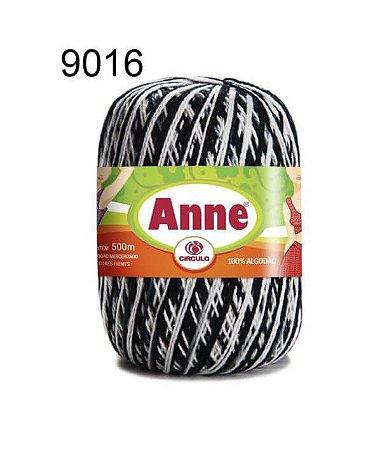 Linha Anne Mescla 500m Cor 9016 Zebra - Círculo