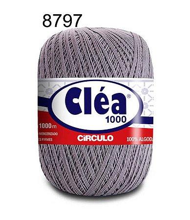 Linha Cléa 1000 151g Cor 8797 Aço - Círculo