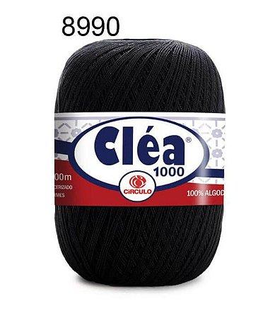 Linha Cléa 1000 151g Cor 8990 Preto - Círculo
