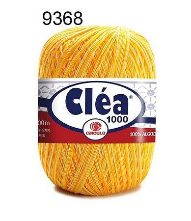 Linha Cléa 1000 151g Cor 9368 Raio de Sol - Círculo