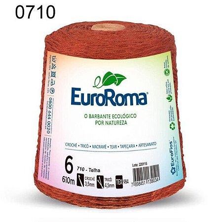 Barbante EuroRoma 6 fios Cor 710 Telha 610 metros