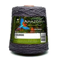 Barbante Amazônia 4 fios cor 41 Cinza Chumbo 600 Gramas 921 Metros - São João