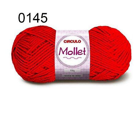 Lã Mollet 100gr 200m Cor 0145 Chama - Círculo