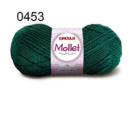 Lã Mollet 100gr 200m Cor 0453 Trevo - Círculo