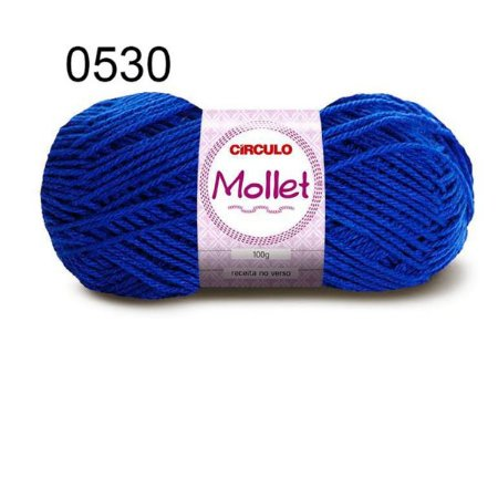 Lã Mollet 100gr 200m Cor 0530 Pacífico - Círculo